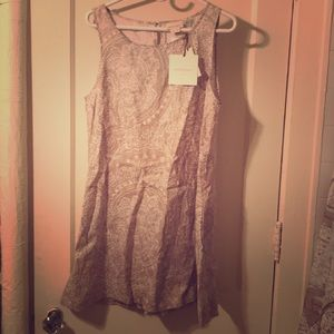 NWT Cynthia Rowley Linen Shift Dress